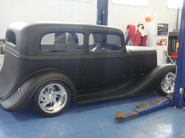 1933 chevy 2 door sedan